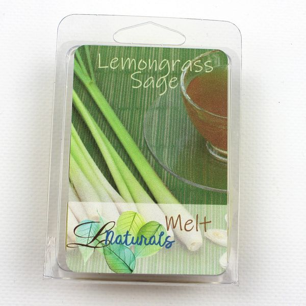 Lemongrass Sage Soy Wax Melt