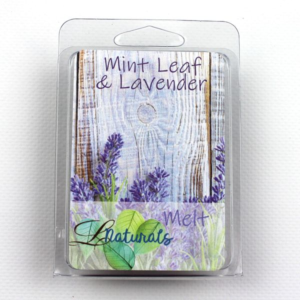 Mint Leaf & Lavender Soy Wax Melt