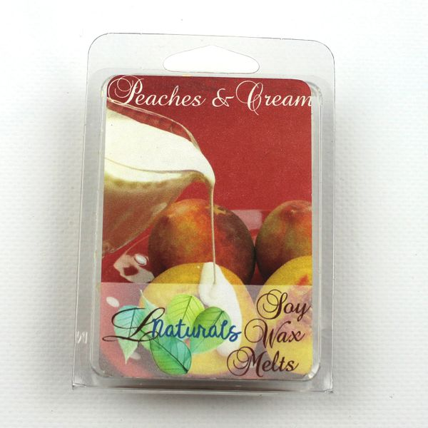 Peaches & Cream Soy Wax Melt - CLEARANCE