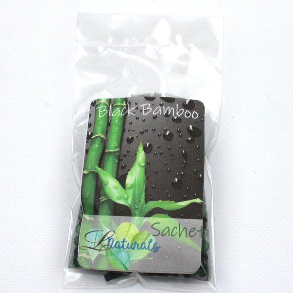 Black Bamboo Sachet