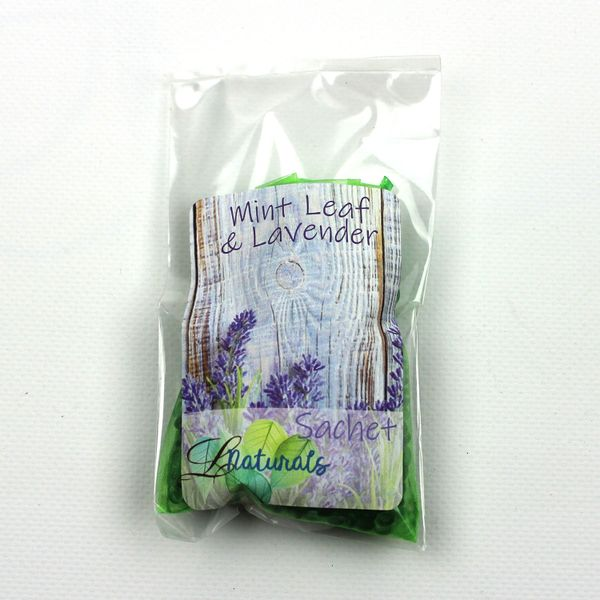 Mint Leaf & Lavender Sachet