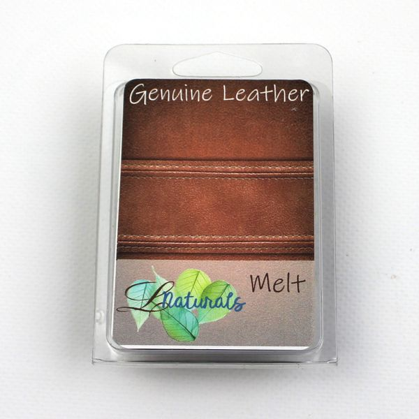 Genuine Leather Soy Wax Melt