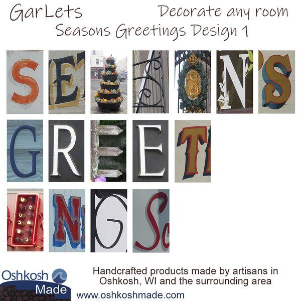 Seasons Greetings GarLets