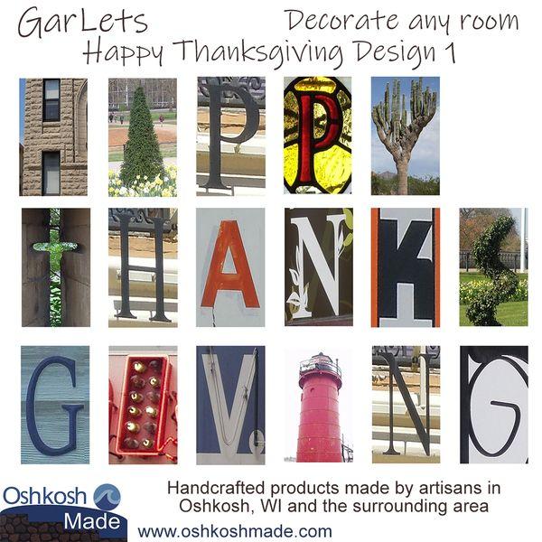 Happy Thanksgiving GarLets