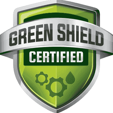 Out bio-based synthetic lubricants and solutions are all green shield certified.