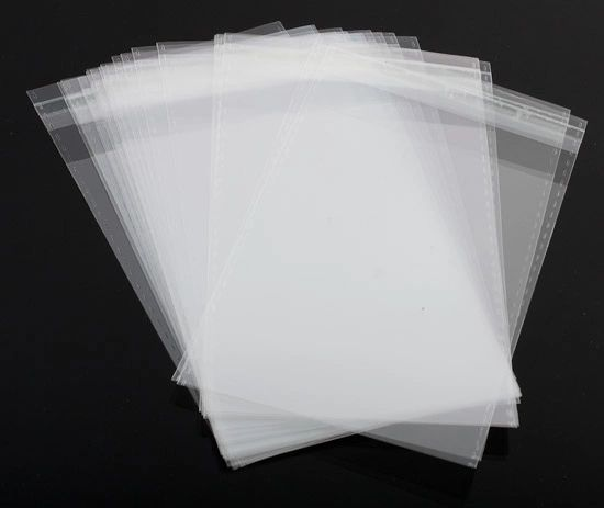 A6, Clear Self Seal Bags