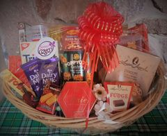 Holiday Sweet and Salty Basket