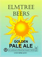 Golden Pale Ale draught beer