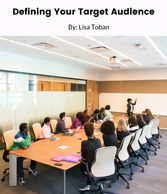 """Defining your Target Audience - Free worksheet by Lisa Toban - Content Creator"