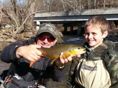 FULL DAY GUIDED FLY FISHING WADE TRIP - NC/VA WATERS