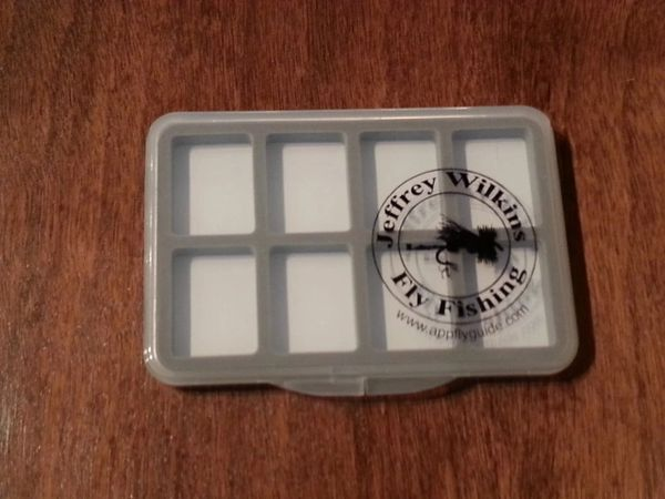 JWFF 8 COMPARTMENT ULTRA SLIM MAGNETIC FLY BOX
