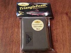 JWFF Stone Creek Triangle Foam Threader Fly Boxes