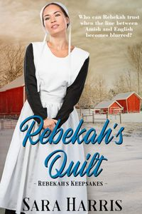 amish, fiction, bestseller, Sara Harris, Rebekah's Keepsakes, author, series, historical, Indiana