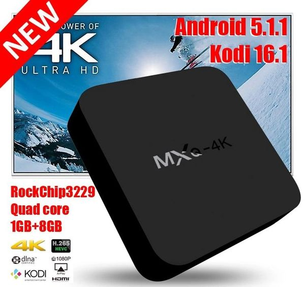 Kanye would Love this ANDROID TV BOX ***FULLY PROGRAMMED 100s of LIVE  Channels   *** RK3229 MXQ 4K OTT Android 7 1 tv box H 265 Kodi 18 0 Pre  install