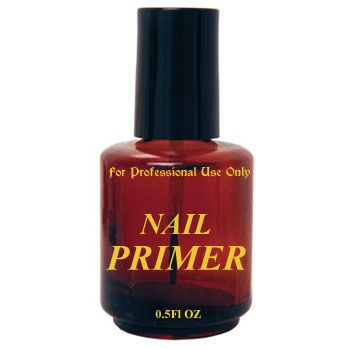 Imprinted Amber Bottle - Primer 0.5oz
