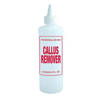 Imprinted Nail Solution Bottle - Callus Remover 16oz