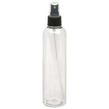 Fine Mist Spray Bottle - Black Top 8oz