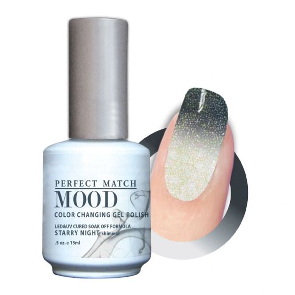 Perfect Match Mood Gel Polish Starry Night - MPMG35
