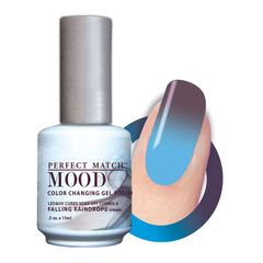 Perfect Match Mood Gel Polish Falling Raindrops - MPMG29