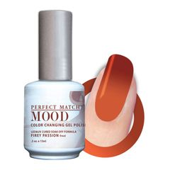 Perfect Match Mood Gel Polish Firey Passion - MPMG28