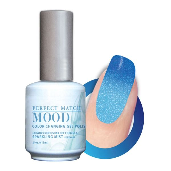 Perfect Match Mood Gel Polish Sparkling Mist - MPMG26