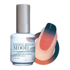 Perfect Match Mood Gel Polish Deep Sea - MPMG25