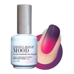 Perfect Match Mood Gel Polish Twilight Skies - MPMG24