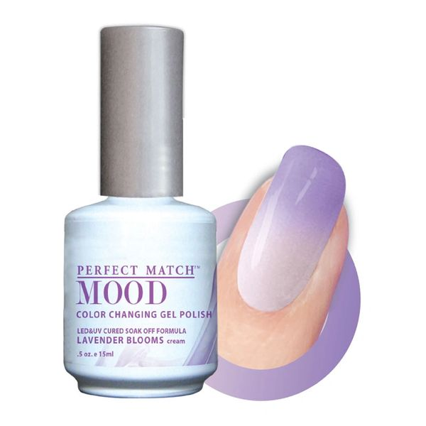 Perfect Match Mood Gel Polish Lavender Blooms - MPMG20