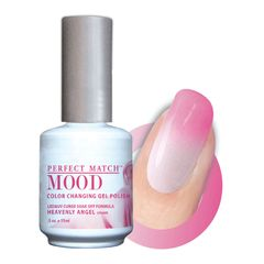 Perfect Match Mood Gel Polish Heavenly Angel - MPMG19