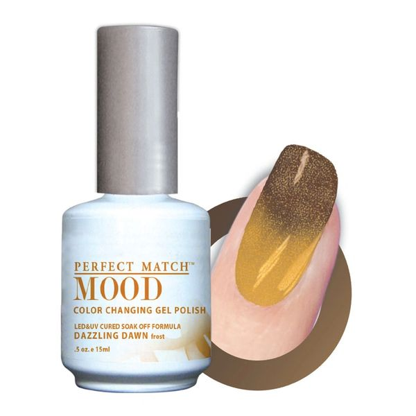 Perfect Match Mood Gel Polish Dazzling Dawn - MPMG15