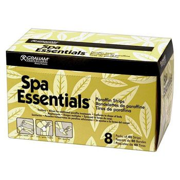 Spa Essentials Paraffin Strips