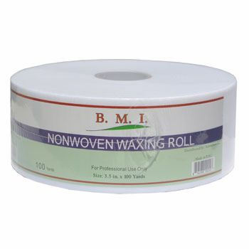 BMI Nonwoven Waxing Roll 100 Yards x 3.5 inches