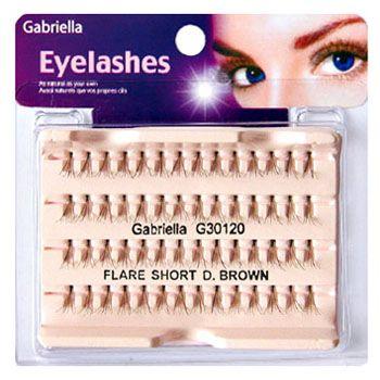 Gabriella Flare Eyelash - Short Brown