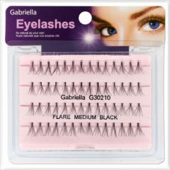 Gabriella Flare Eyelash - Medium Black