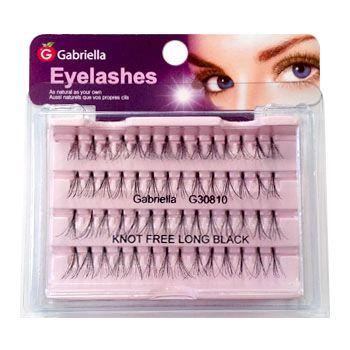 Gabriella Natural Eyelashes - Long Black