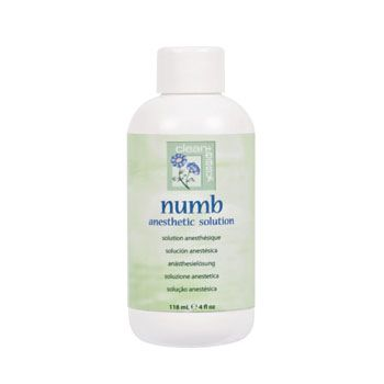 Clean + Easy Numbing Antiseptic Lotion 4oz