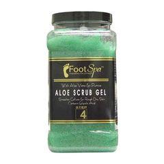 Foot Spa Aloe Scrub Gel Gallon