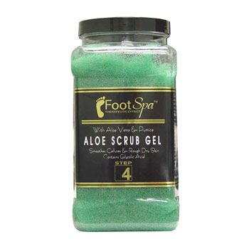 Foot Spa Aloe Scrub Gel Gallon