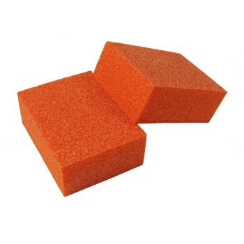 Orange Manicure Mini Buffing Blocks 2 Ways
