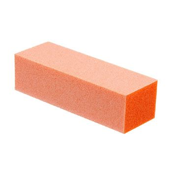 Orange Manicure Buffing Blocks 3 Ways