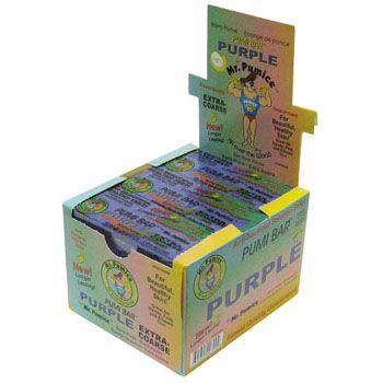 Purple Pumice Bar 12/box