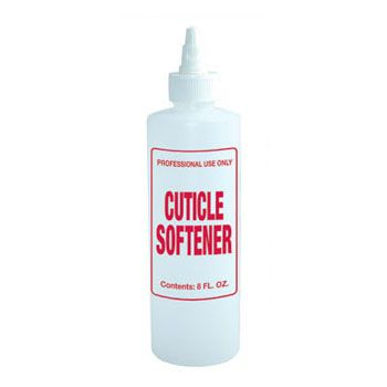Imprinted Nail Solution Bottle - Cuticle Softener 8oz