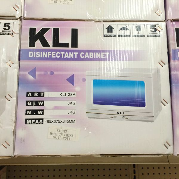 KLI Disinfectant Cabinet
