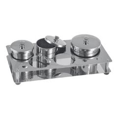 3-Piece Stainless Steel Powder & Liquid Set