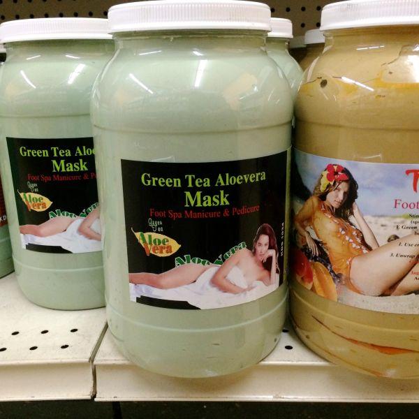KDS Green Tea Aloevera Mask Gallon
