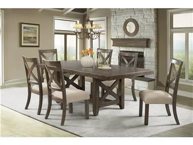Strange Franklin Dining Sets Table And Six Chairs Ibusinesslaw Wood Chair Design Ideas Ibusinesslaworg
