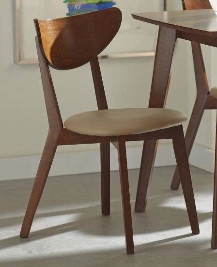 Modern Wooden Dining Chair | Pack of Two