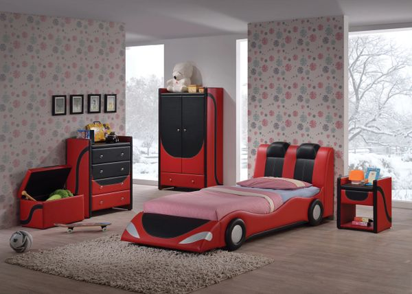 Twin Boy S Car Bed Boy Bed Race Car Bed Andretti La Hacienda