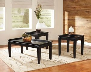 Tremendous Delormy Coffee Table W Two End Tables Ocoug Best Dining Table And Chair Ideas Images Ocougorg