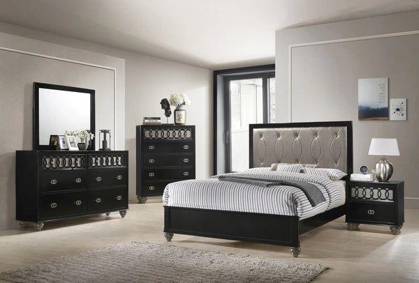 Astounding Mystic Queen Bedroom Set Queen Bed Dressor Mirror And Nightstand Interior Design Ideas Tzicisoteloinfo